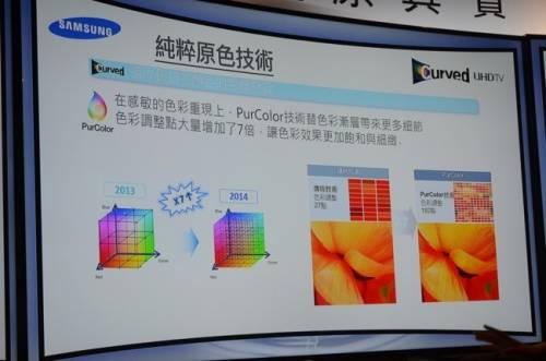Samsung Curved UHD TV 黃金曲面 真實感受