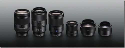 Sony 全新陣容 滿足攝影愛好者 捕捉完美影像的極致追求!