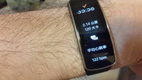 隨時提醒運動作息 Samsung Gear Fit 最時尚的運動管家