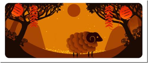 [Google Doodle] 2015 春節農曆新年快樂 各地旅遊景點大推薦