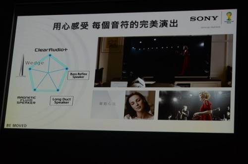Sony 2014 BRAVIA新機問世 楔形設計Wedge Design 讓美聲更動人