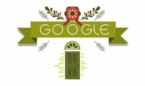 [Google Doodle] 聖誕節來了!Google連三天的祝福!