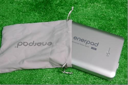 超大 enerpad 24000 mAh 萬能行動電源 除了手機 還可幫筆電充電