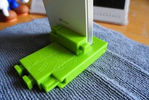 超好用積木手機立架 MMS純台灣血統設計