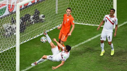 2014 世界盃足球賽 8強淘汰賽 荷蘭 對 哥斯大黎加 賽事結果