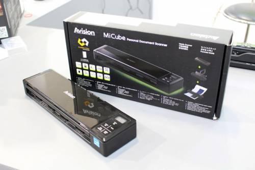 一次掃瞄八張文件也超輕鬆!Avision 虹光 MiCube 便攜式自動進紙文件掃瞄器