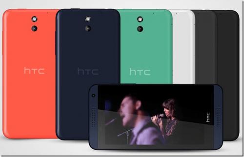 全新Deisre 816 MWC登場 HTC全面反攻中階市場