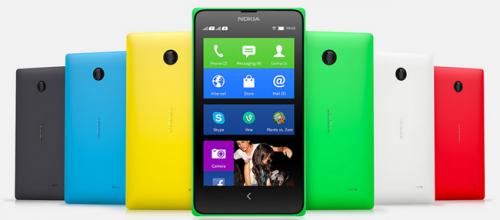 Nokia推出中階X家族手機 起價台幣3700元