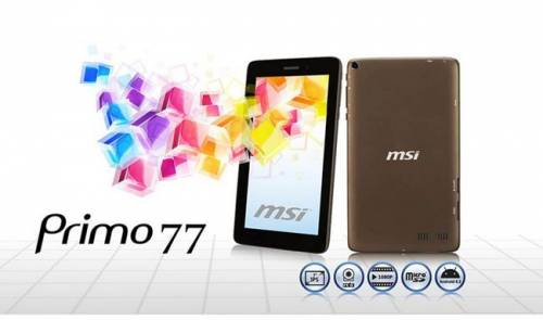 觸動時尚新生活 MSI Primo 77 滿足你所有的行動需求