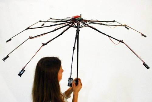聽見下雨的聲音 一支小雨傘變成喇叭?!