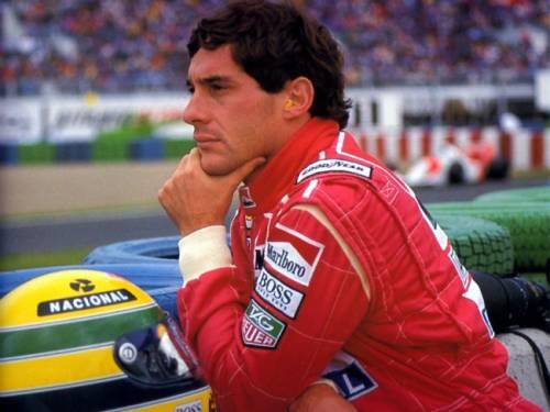 [Google Doodle] 永遠的車神 冼拿 Ayrton Senna54 歲生日