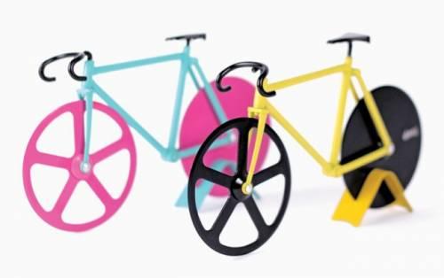 FIXIE PIZZA CUTTER - 用自行車滾一滾就可大口吃披薩了!