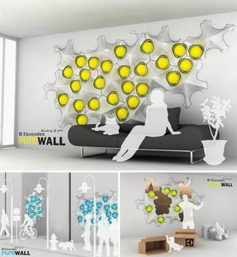 PUREWALL 淨化居家空氣也使牆面更美麗