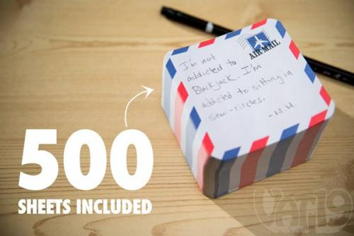 Airmail Notepad Launcher 辦公室整人玩具 發射廢棄便條紙