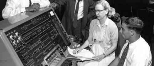 [Google Doodle] COBOL商用程式語言之母 Grace Hopper 107歲冥誕