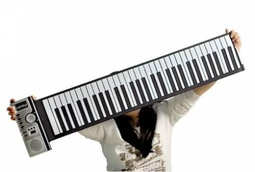 Roll Up Electronic Piano 折疊式電子琴帶著走