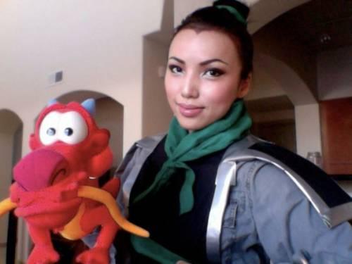仿妝天后仿妝秀 變身多位迪士尼動畫女主角