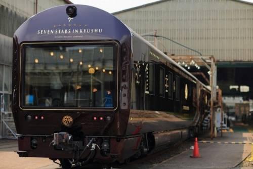 Seven Stars In Kyushu 七星級豪華郵輪式列車 暢遊九州鐵路美景