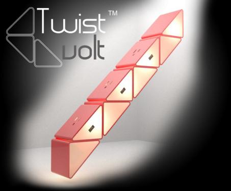 TwistVolt 百變插座 16 384 種變化,克服奇形怪狀的大小插頭
