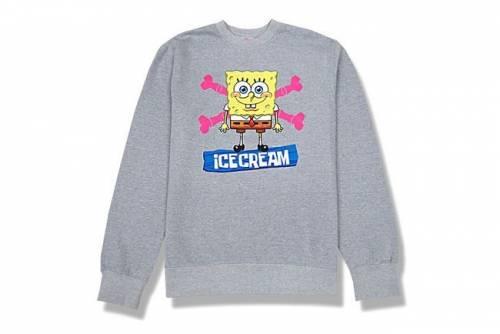 海綿寶寶xIce Cream聯名T恤 一秒變身街頭霸王
