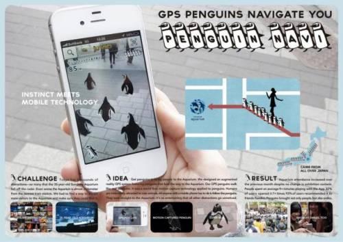 直擊!超人氣東京企鵝過馬路!
