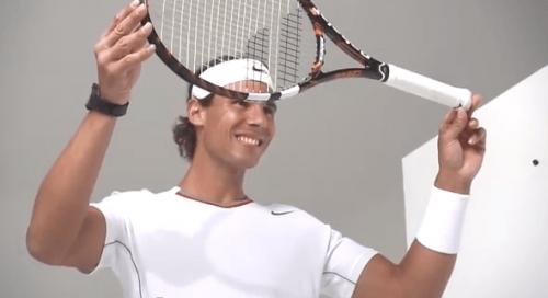 超智慧網球拍 Rafael Nadal也來代言