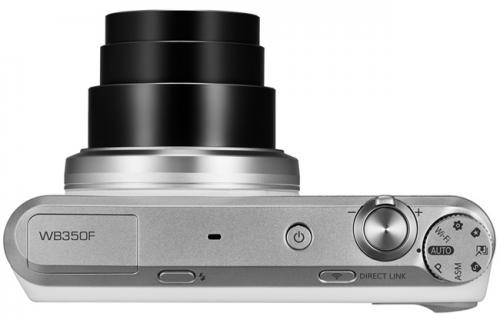 三星 SMART Camera WB350F 21倍光學變焦CES展出