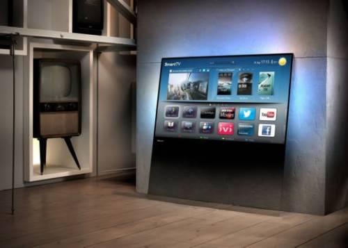 PHILPS Designline TV 抱歉 我家電視只能靠牆站