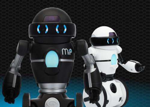 WowWee於CES 2014展出MiP機器人 用手機操作超有趣