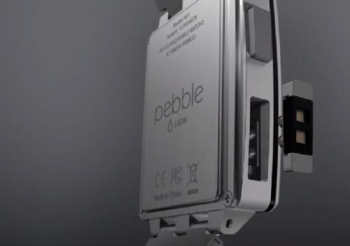 Pebble Steel 更具質感的金屬錶身智慧型手表 CES 2014展出