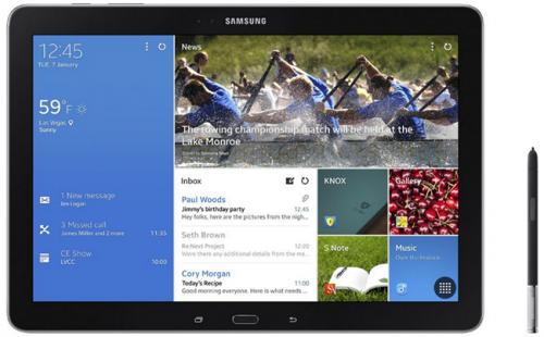 Samsung GALAXY NotePRO TabPRO WQXGA高解析登場