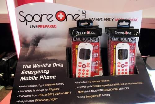 能待機兩個月的救命手機 - SpareOne