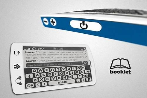 返璞歸真的 E-Ink Smart Phone 講究智慧功能又省電