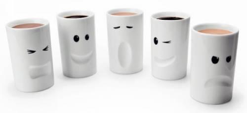 不說話也能表達出今天的心情 Mood Mugs情緒杯