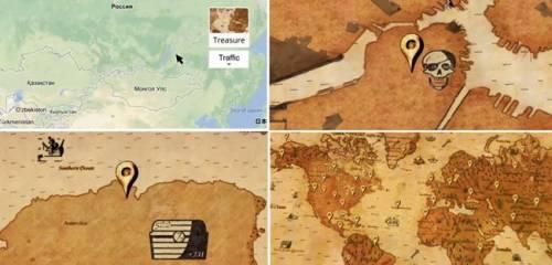Google Map瘋狂藏寶圖登場 你找到寶藏了嗎