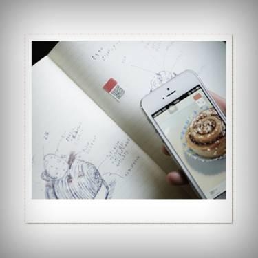 日本超卡哇伊便利貼 用QR Code紀錄好心情