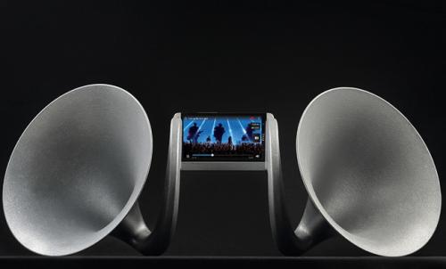 New HTC One的大號角 Gramohorn II不插電也可釋放大音量