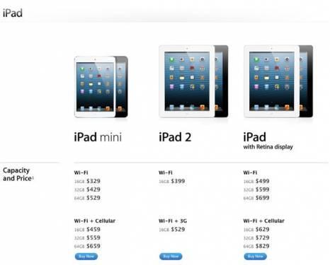 iPad 4 128G版本 確定2 5問世