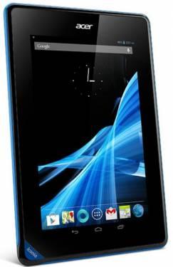 Acer 7吋平板 超低價格積極搶市