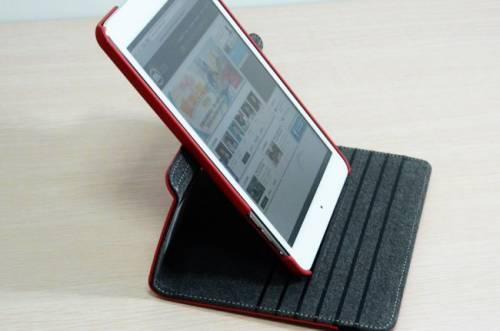 iPad mini旋轉保護套 讓你怎麼站都沒問題