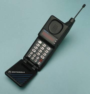 世界上第一支掀蓋式手機 Motorola MicroTAC