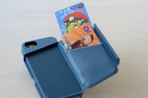 Targus WALLET CASE 讓你iPhone 5也可裝上悠遊卡