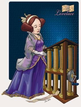 [ Google Doodle ] 世界上首位計算機程式設計師 Ada Lovelace 197 歲誕辰