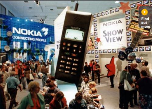 Nokia 1011- 全世界第一支GSM手機