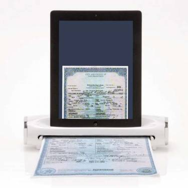 iPad專用掃描機 居然還可以幫你充電
