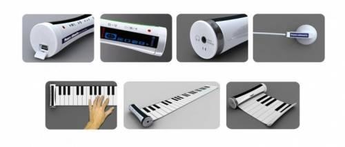 有琴鍵的MP3 這設計讓你隨時隨地玩創作