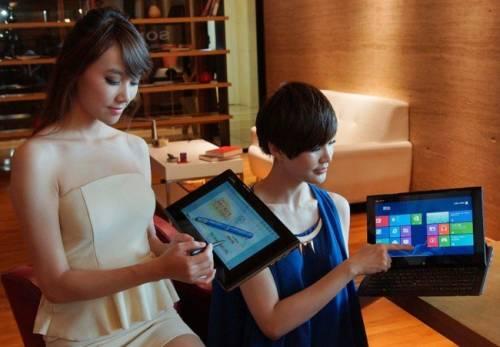全新SONY VAIO Duo 11是平板 也是筆電