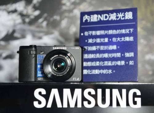 F1.4超大光圈 Wi-Fi即拍即傳SAMSUNG EX2F 驚艷上市