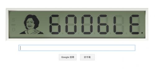 Google Doodle - Shakuntala Devi the India's Human Computer