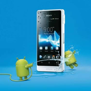 防水與時尚兼備的智慧型手機 Sony Xperia go